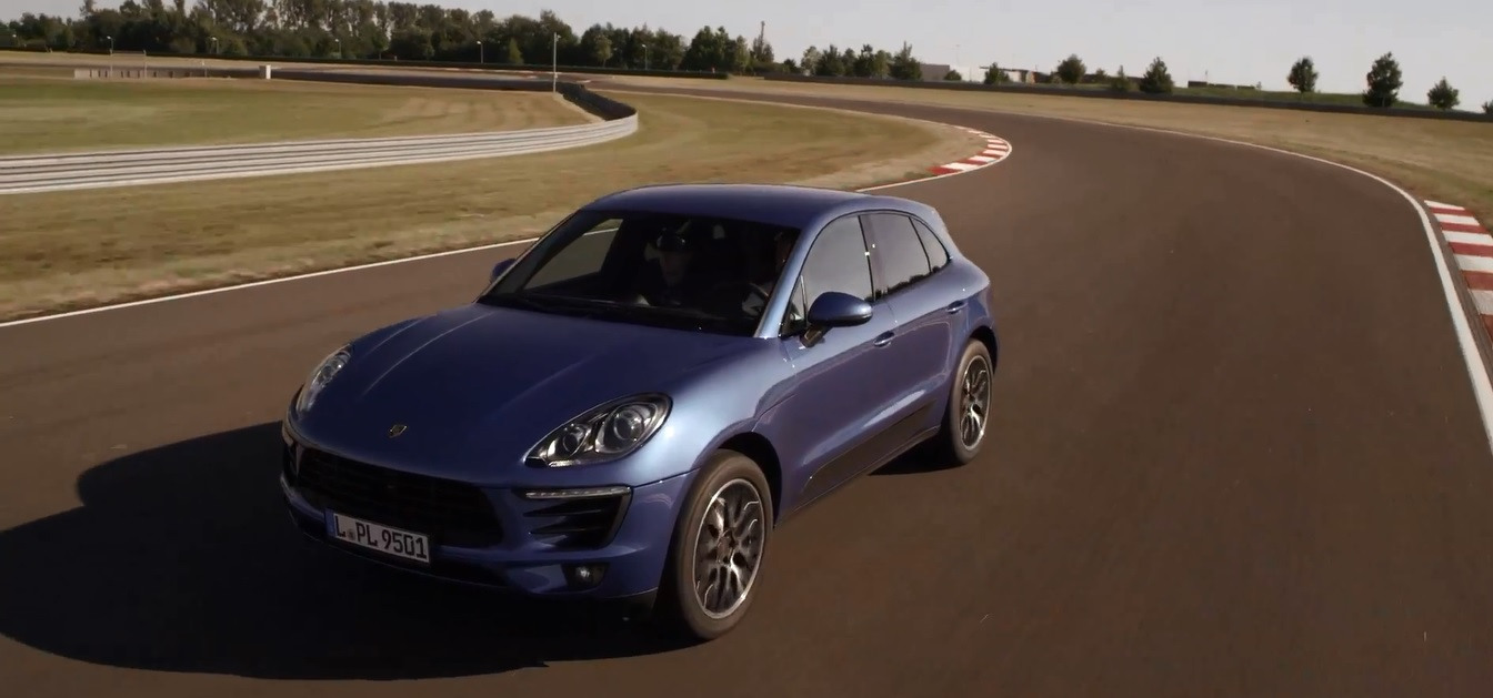 Porsche Macan made in Germany
