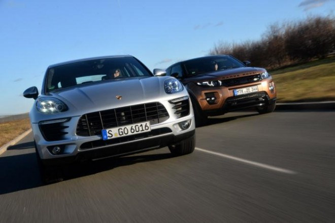 Porsche Macan vs Evoque